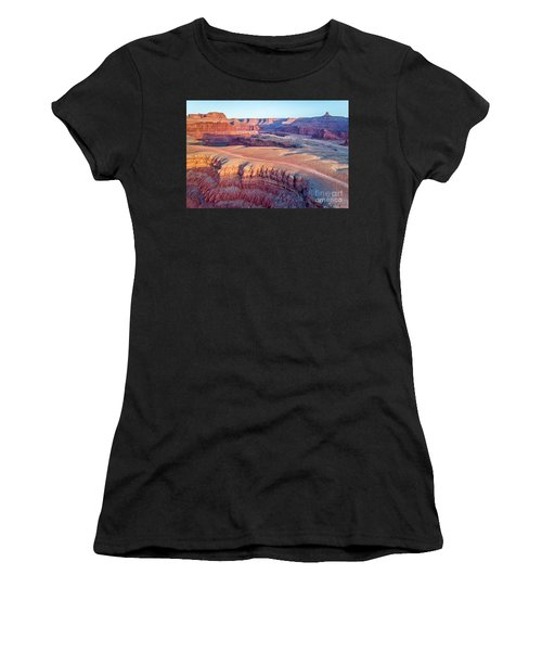 aerial view of Colorado RIver canyon Women's T-Shirt (Athletic Fit)