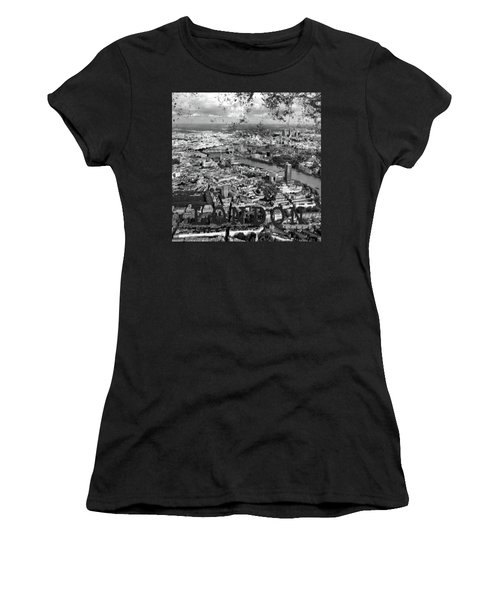 Aerial View Of London Women's T-Shirt (Athletic Fit)
