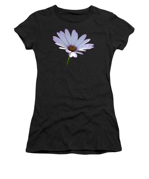 African Daisy Women's T-Shirt (Junior Cut) by Scott Carruthers