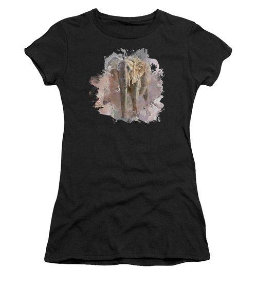 African Elephant - Transparent Women's T-Shirt