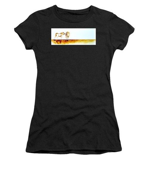 African Marriage - Original Artwork Women's T-Shirt