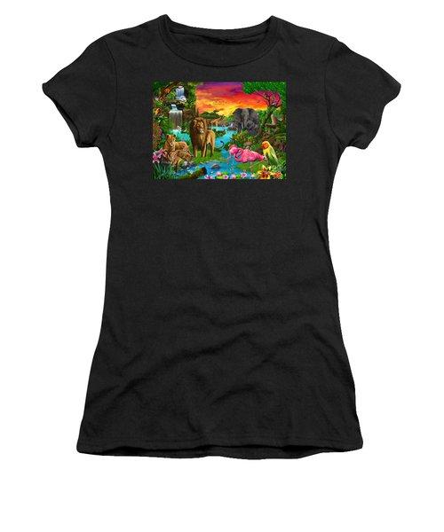 African Paradise Women's T-Shirt