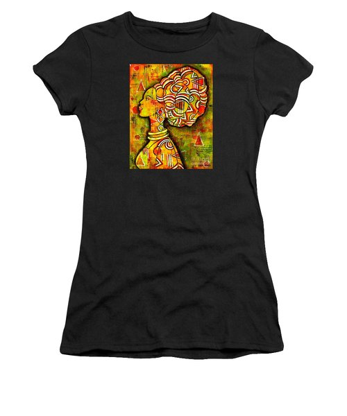 African Queen Women's T-Shirt (Athletic Fit)