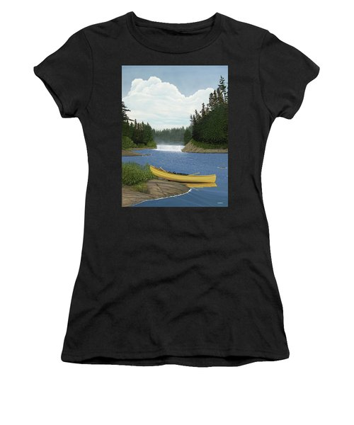 After The Rapids Women's T-Shirt (Athletic Fit)