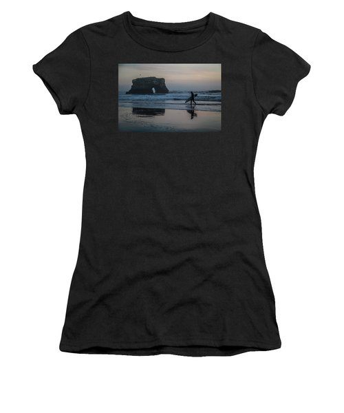 Women's T-Shirt (Athletic Fit) featuring the photograph After The Set by Lora Lee Chapman