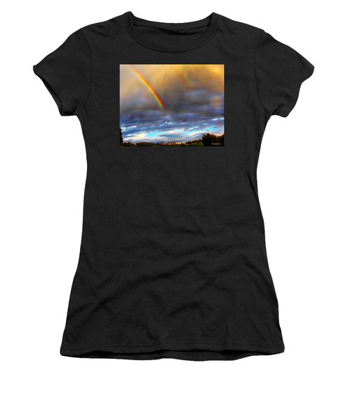 After The Storm El Valle New Mexico Women's T-Shirt (Athletic Fit)