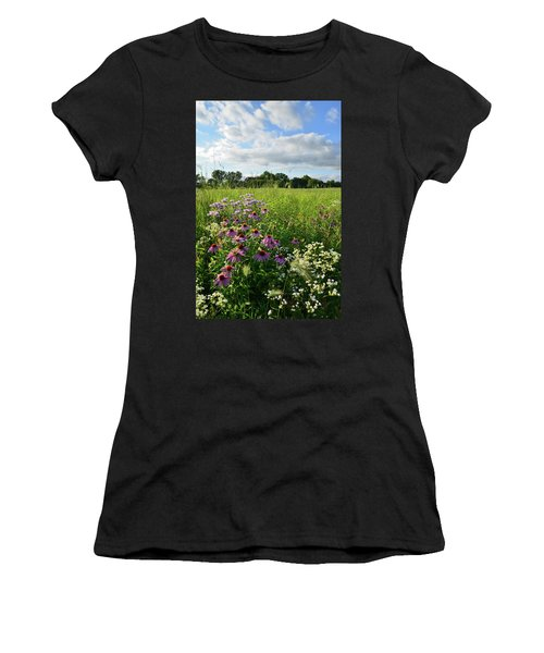 Afternoon In Moraine Hills State Park Women's T-Shirt (Athletic Fit)