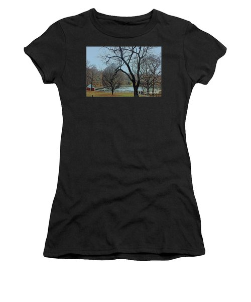 Afternoon In The Park Women's T-Shirt (Athletic Fit)