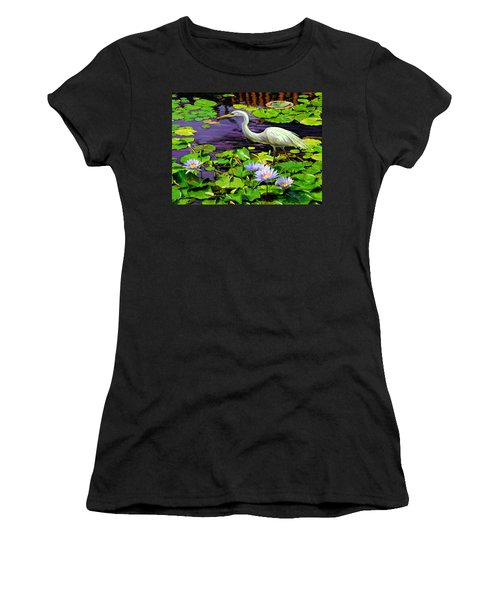 Afternoon Snack Women's T-Shirt (Junior Cut) by David  Van Hulst