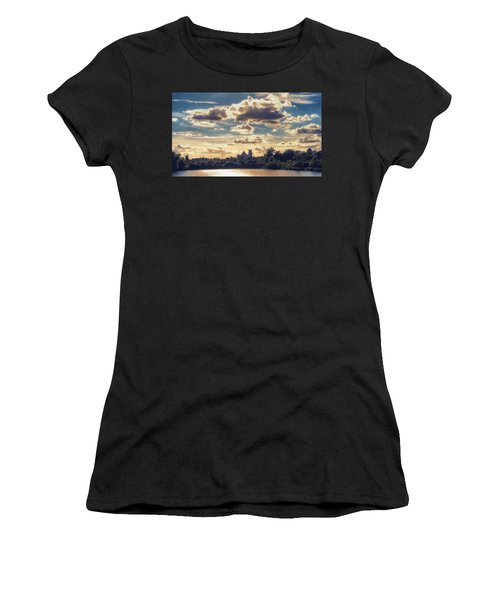Afternoon Sun Women's T-Shirt (Athletic Fit)