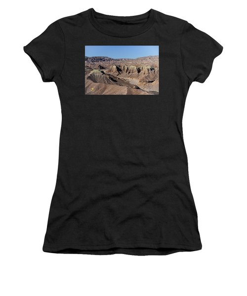 Women's T-Shirt featuring the photograph Afton Canyon by Jim Thompson