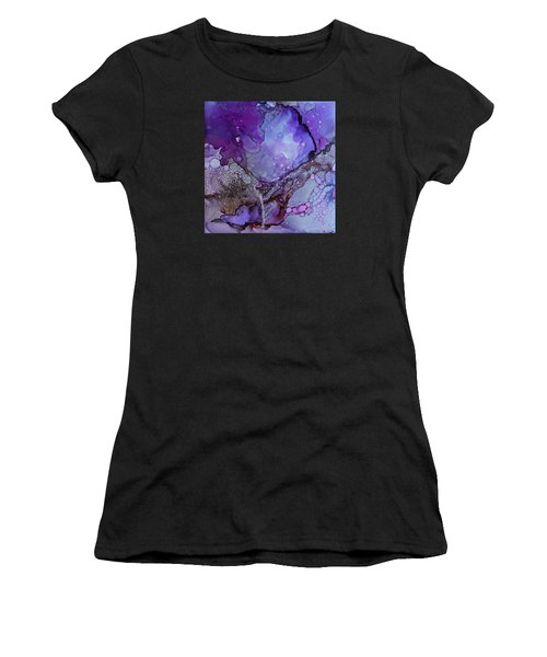 Women's T-Shirt featuring the painting Agate by Ruth Kamenev