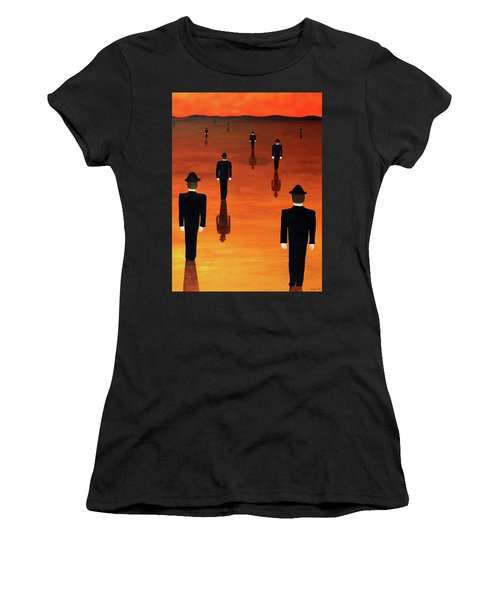 Agents Orange Women's T-Shirt (Athletic Fit)