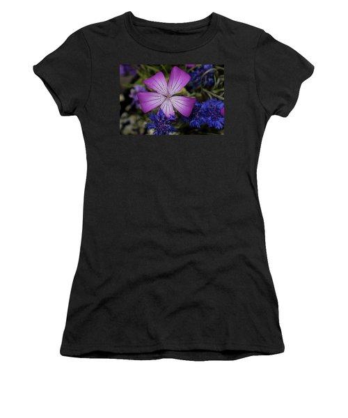 Agrostemma Women's T-Shirt (Athletic Fit)