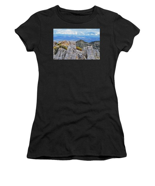 Aguereberry Point Rocks Women's T-Shirt