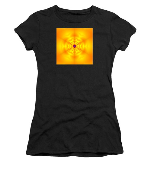 Women's T-Shirt featuring the digital art Ahau 6 by Robert Thalmeier