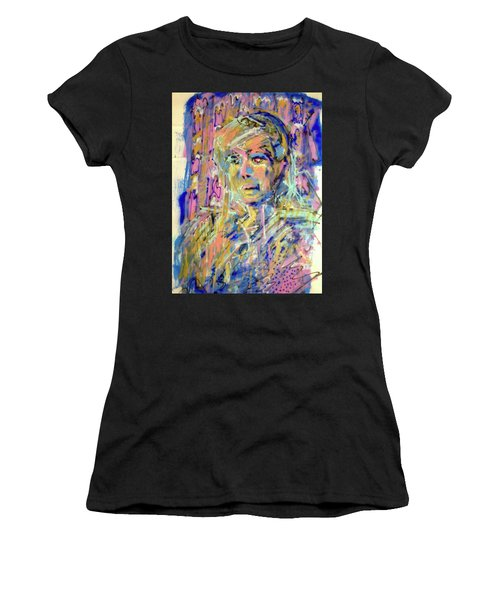 Airbrush 2 Women's T-Shirt (Athletic Fit)