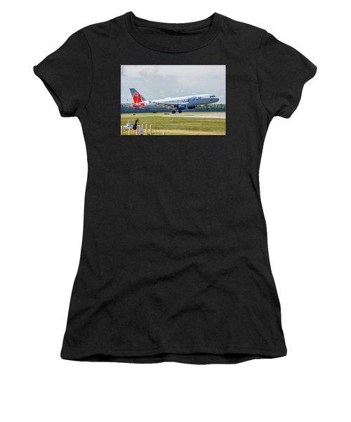 Airbus A320 Boston Strong Women's T-Shirt
