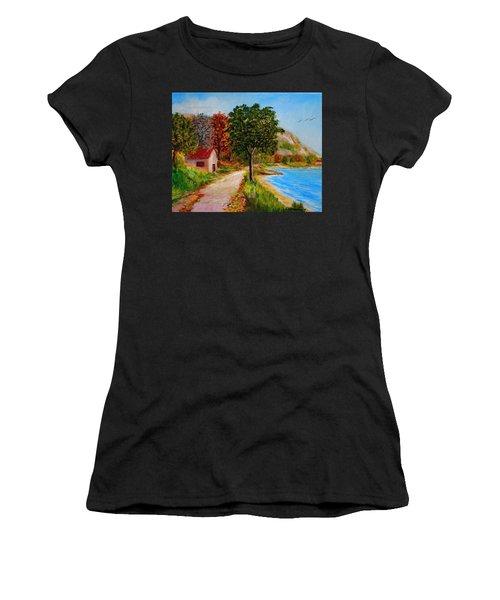 Akronafplia Women's T-Shirt (Athletic Fit)