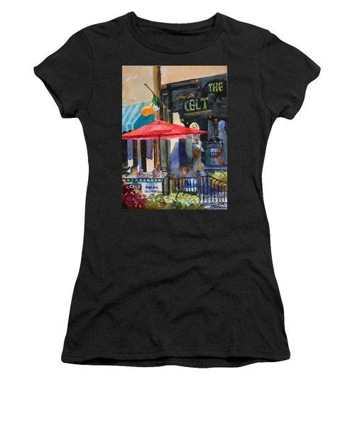 Al Fresco At The Celt Women's T-Shirt (Athletic Fit)