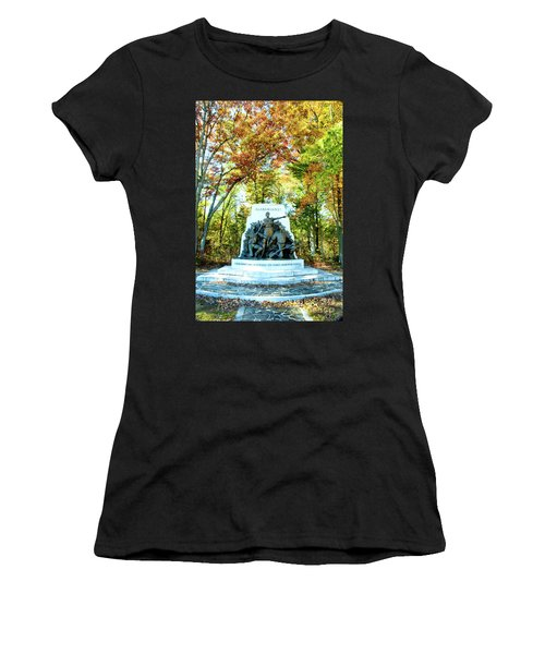 Alabama Monument At Gettysburg Women's T-Shirt