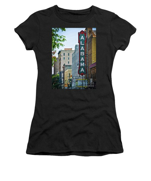 Alabama Theatre Women's T-Shirt (Athletic Fit)