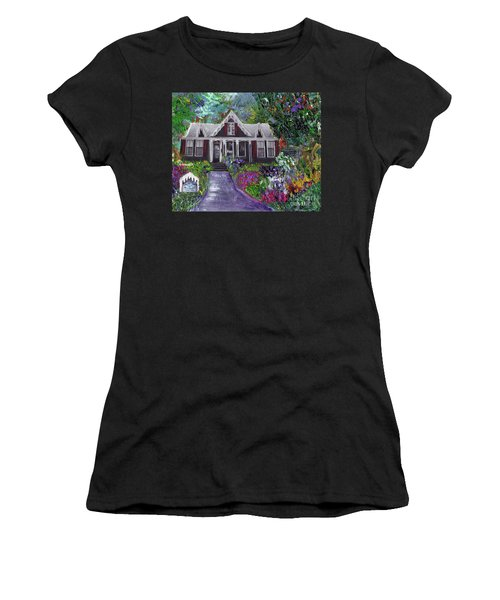 Alameda 1854 Gothic Revival - The Webster House Women's T-Shirt (Athletic Fit)