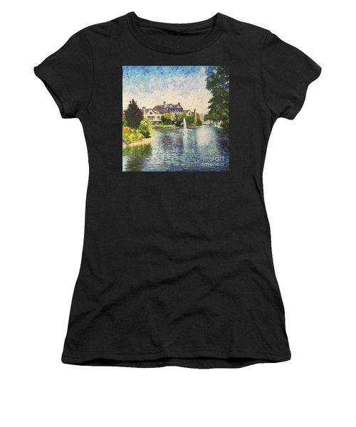 Alameda Marina Village 1 Women's T-Shirt (Athletic Fit)