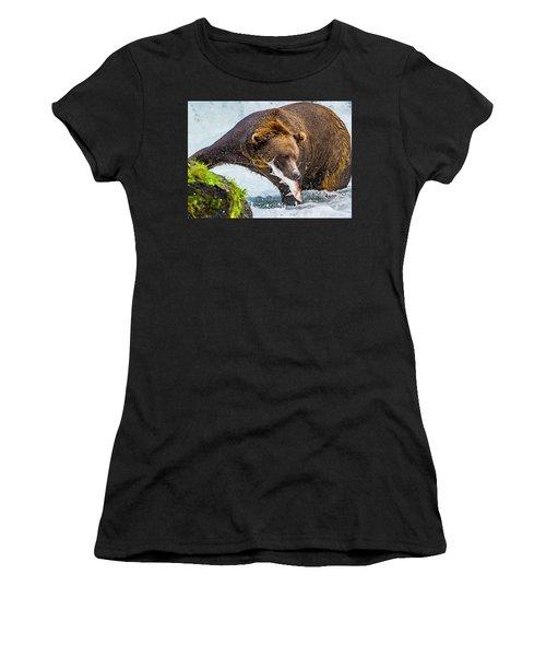 Alaska Brown Bear Women's T-Shirt