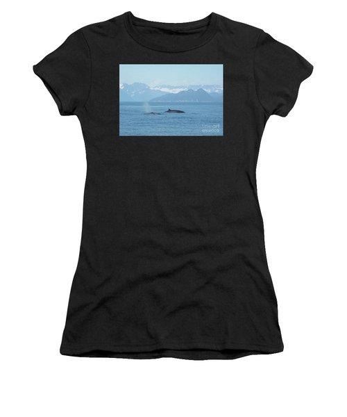 Alaska Finback Whales Women's T-Shirt