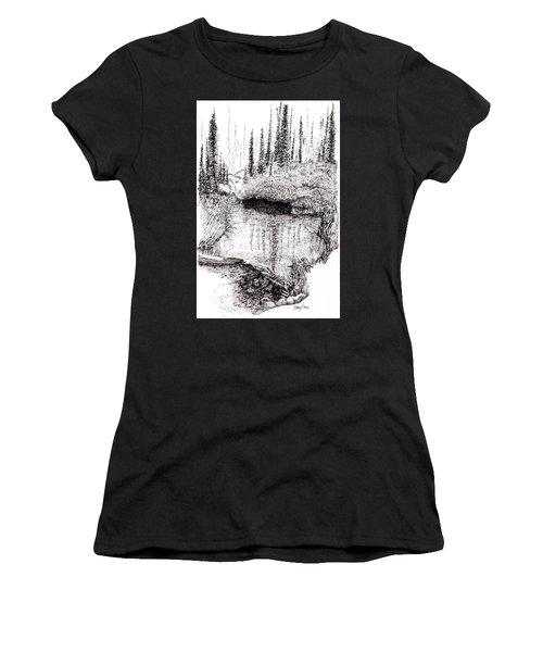 Alaska Pond Women's T-Shirt
