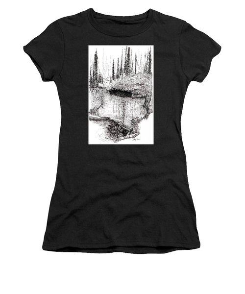Alaska Pond Women's T-Shirt