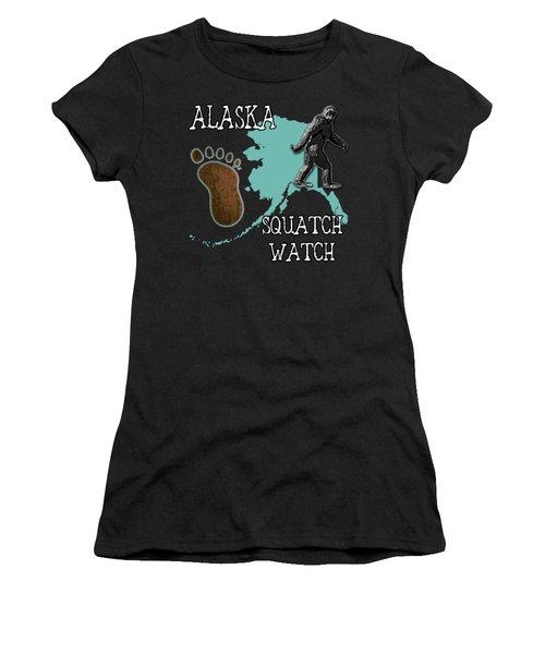 Alaska Squatch Watch Women's T-Shirt
