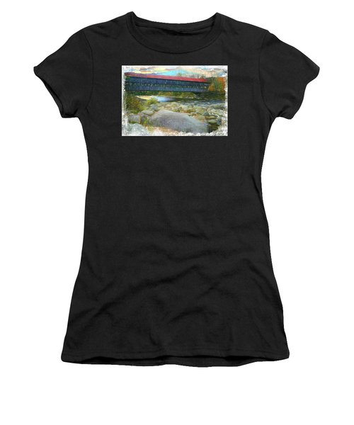 Albany Covered Bridge Nh. Women's T-Shirt