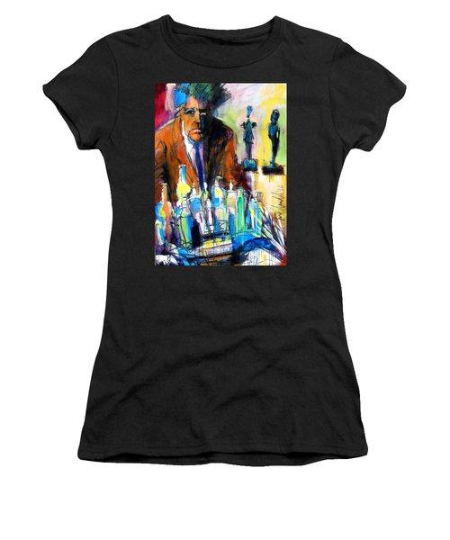 Alberto Women's T-Shirt (Junior Cut) by Les Leffingwell