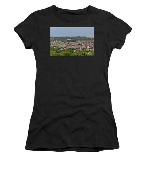 Albufeira Marina View Women's T-Shirt (Athletic Fit)