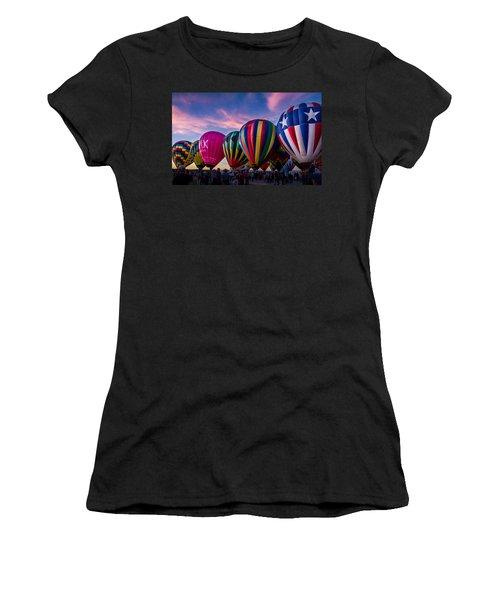 Albuquerque Hot Air Balloon Fiesta Women's T-Shirt