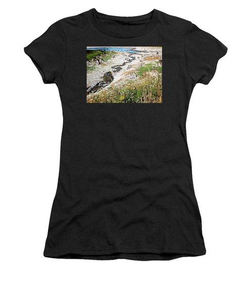 Alder Lake Stumps Women's T-Shirt (Athletic Fit)