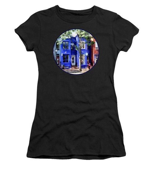 Alexandria Va - Colorful Street Women's T-Shirt (Athletic Fit)
