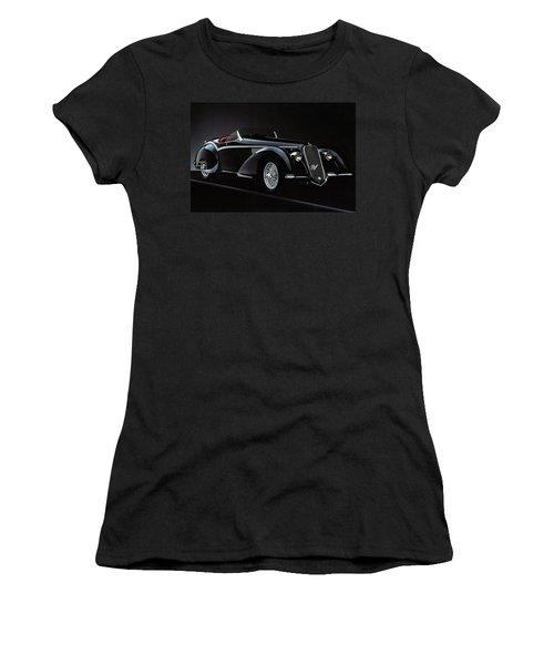 Alfa Romeo 8c 2900 Mercedes Benz Women's T-Shirt (Athletic Fit)