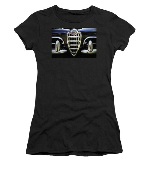 Alfa Romeo Women's T-Shirt (Athletic Fit)