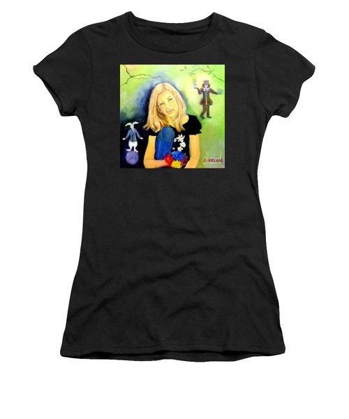 Alice In Garden Women's T-Shirt