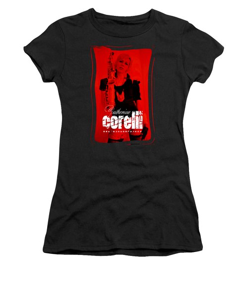 Alice Sax Red Women's T-Shirt (Athletic Fit)