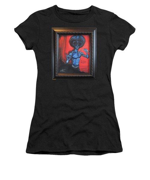 alien Bruce Lee Women's T-Shirt