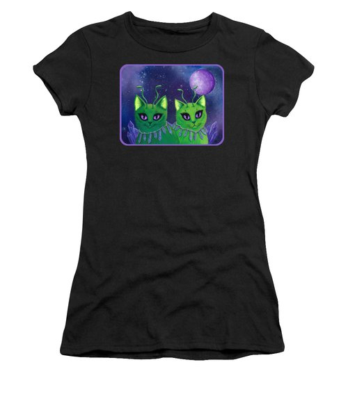 Alien Cats Women's T-Shirt