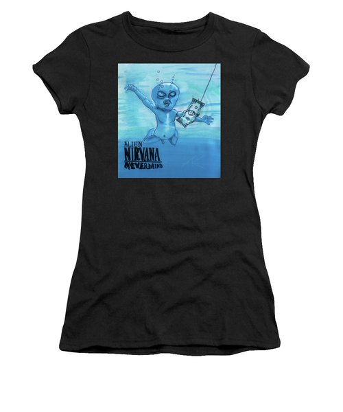 Alien Nevermind Women's T-Shirt