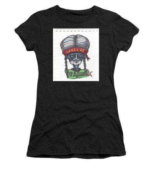 alien Willie Nelson Women's T-Shirt