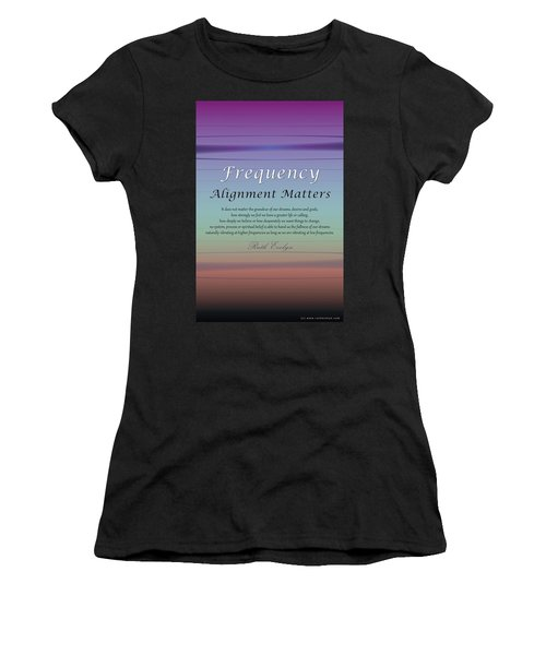 Alignment Matters Women's T-Shirt