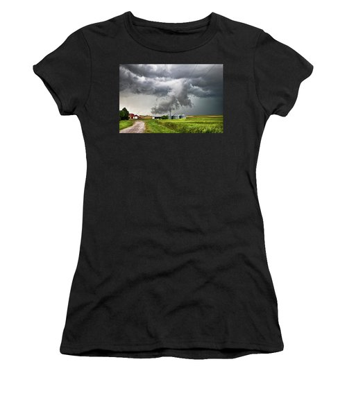 Alive Sky In Wyoming Women's T-Shirt