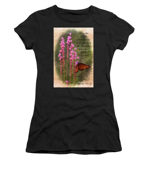 All His Works Women's T-Shirt (Athletic Fit)